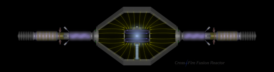CrossFire Fusion Reactor - Electrostatic Colliding Beams