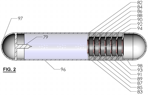 FIG. 2 - Impulse Drive - Section View