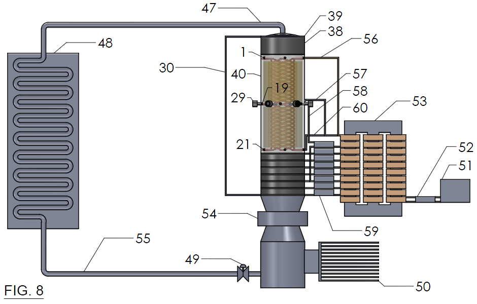 FIG. 8 - Heat Engine