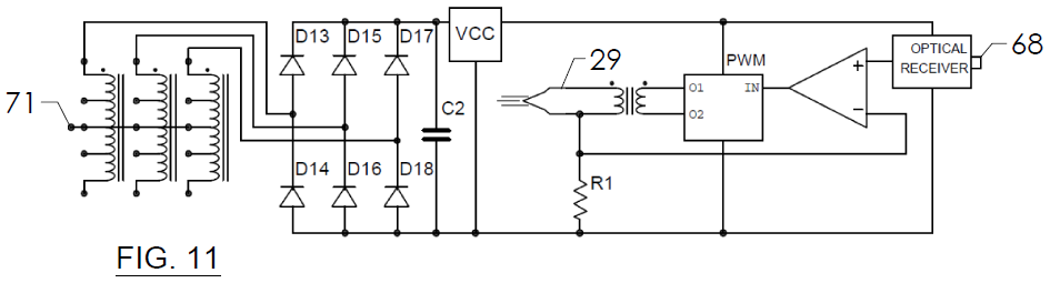 FIG. 11 - Schematic Diagram Emitter
