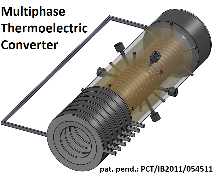 Multiphase Thermoelectric Converter - Heat Engine