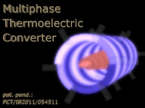 Multiphase Thermoelectric Converter - Coils & Plasma